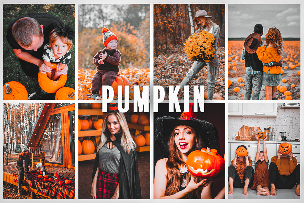 Preset pumpkin - efekt po