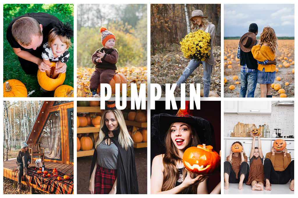 Preset pumpkin - efekt przed
