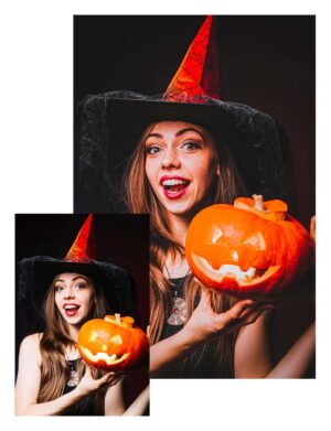 Preset Pumpkin - czarownica