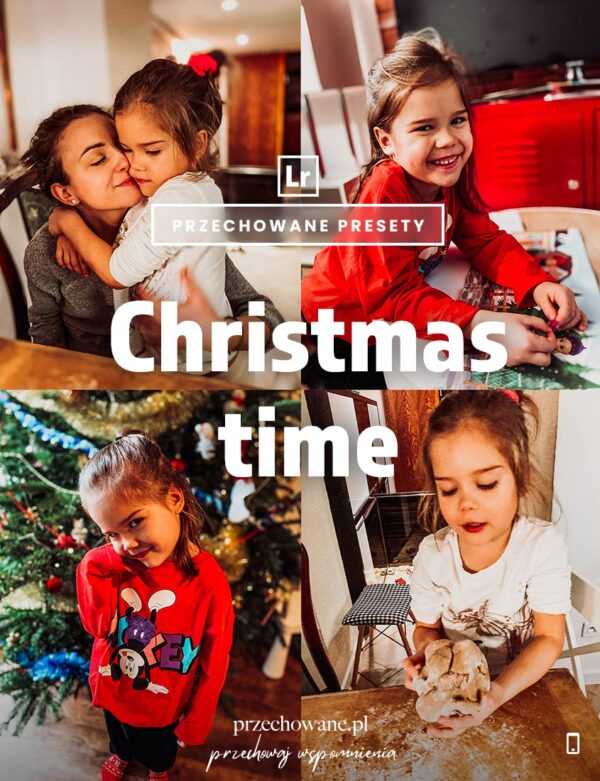 Christmas Time Preset - Okładka